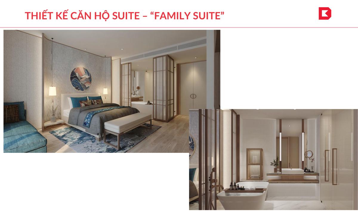 Căn hộ Family Suite tại dự án Takashi Quy Nhơn